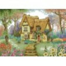 "14 Count Charted Cross Stitch Kit/"" The Thatched Cottage 47x35cm"