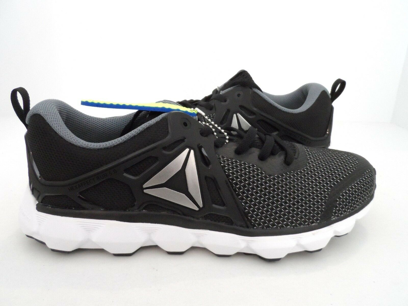 Reebok Women's Hexaffect Run 5.0 Running shoes Black Asteroid Dust White Size 11