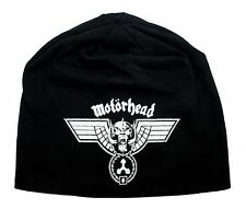 """Motorhead"" Hammered War-Pig Band Logo Metal Rock Music Skull Cap Beanie Hat"