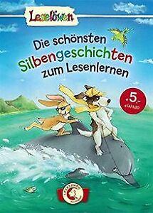 Leseloewen-das-Original-Die-schoensten-Silbengeschichte-Buch-Zustand-gut