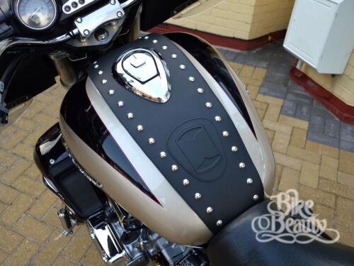 HONDA VALKYRIE F6C GL 1500 C LEATHER TANK Pad Cover Panel Belt Chap Bra Bib