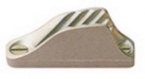 STROZZASCOTTE CLAMCLEAT IN ALLUMINIO ANODIZZATO PER SCOTTE DIAM.6-12 MM