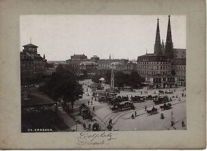 100% De Qualité Allemagne Dresde Postplatz Vintage Photomécanique Ca. 1900