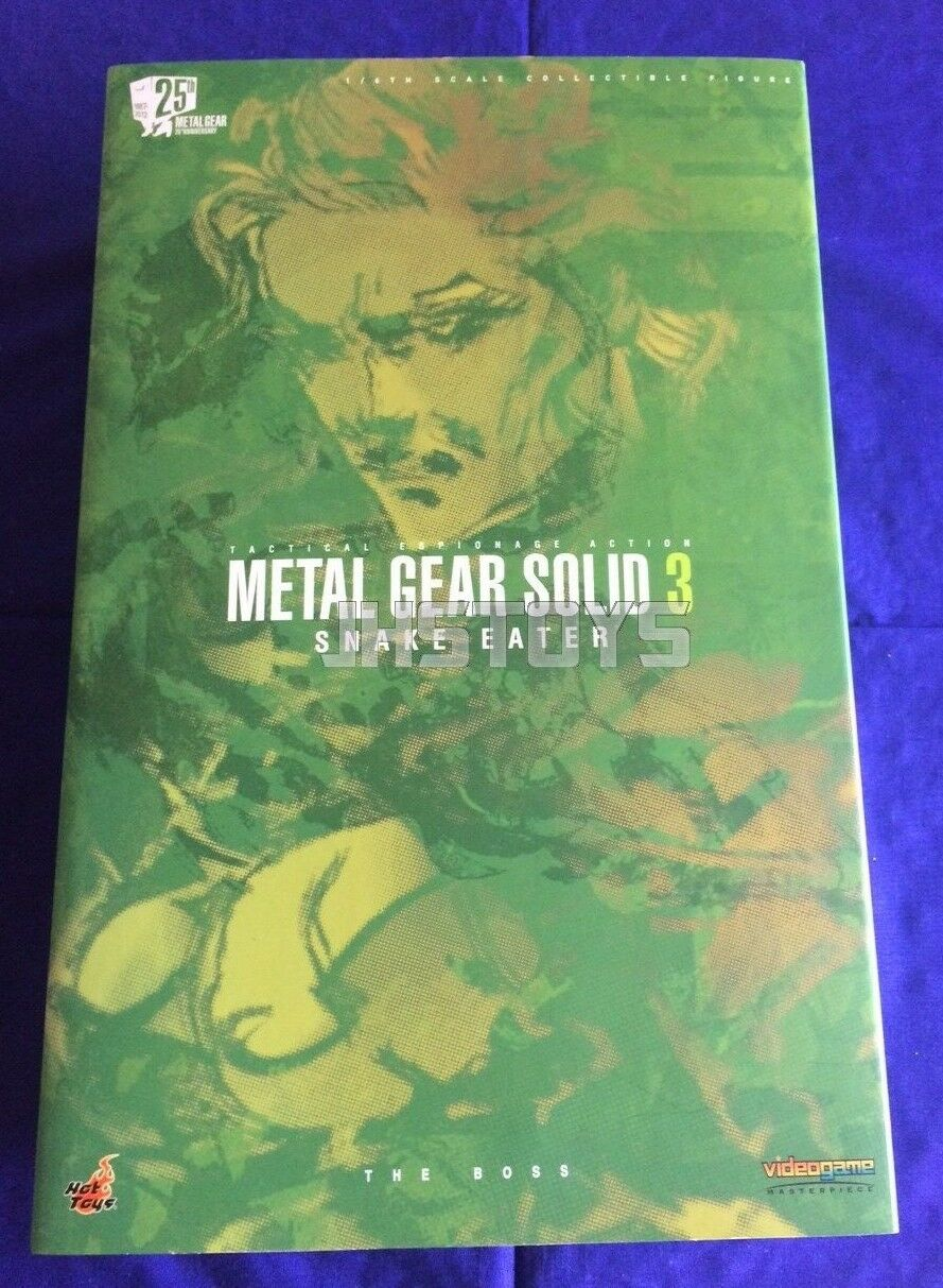 Hot Toys 1/6 Metal Gear Solid 3 Snake Eater The Boss VGM14