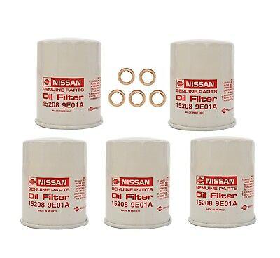 1998-2015 Nissan Altima Maxima Pathfinder Sentra Oil Filter /& Crush Washer OEM