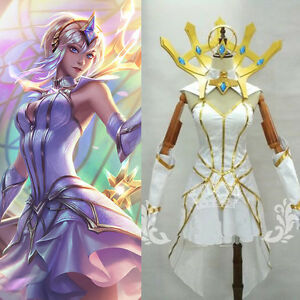 League Of Legends Lol Elementalist Lux Cosplay Costume Kostume