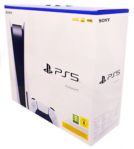 Sony PlayStation 5 / PS5 Konsole - 825GB - Version mit Laufwerk - Disc Edition -