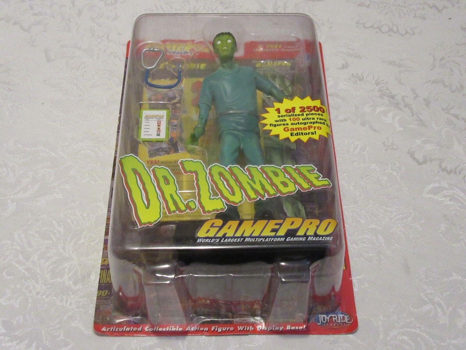Joyride Studios GamePro Presents Dr Doctor Zombie Series 2 Action Figure