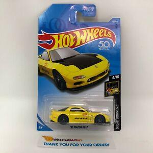 039-95-Mazda-RX-7-16-Yellow-2018-Hot-Wheels-WK13