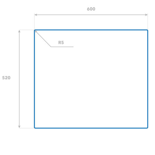 60x52 cm Herdabdeckplatten aus Glas Spritzschutz Mädchen Herz