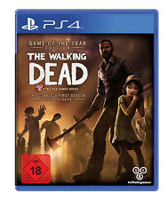 The Walking Dead Game of the Year + Addon 400 Days ps4-juego nuevo