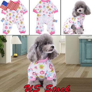Dog-Clothing-Sleepwear-Cotton-Dog-Pajamas-Pet-Puppy-Soft-Warm-Cozy-Mono-Mamluk