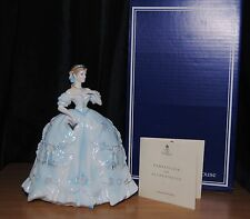 Royal Worcester The First Quadrille Limited Edition Figurine Boxed With Coa