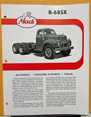 Gerosa Hauling 1960 Mack LRVSW Truck Factory Press Photo 0096