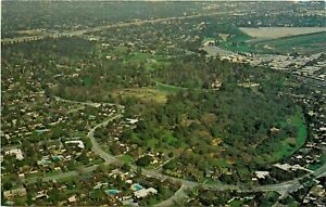 Old-Chrome-Postcard-I252-Aerial-View-Los-Angeles-State-County-Arboretum-Arcadia