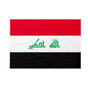 Bandiera da bastone Iraq 50x75cm