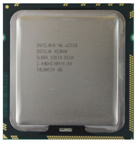 Details about Intel Xeon W3550 3 06GHz 8MB Cache LGA 1366 Quad Core CPU  Processor SLBEY