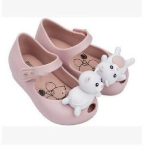 69f3d7455 Lovely Bear kids Girls Mini Melissa Shoes Sandals Toddler US Size 6 ...