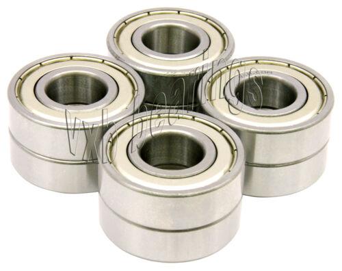 8 Bearing 6205-RZ 25x52x15 Shielded VXB Ball Bearings