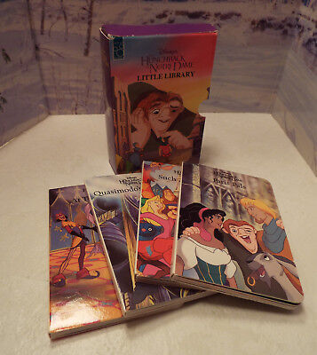 NEW SEALED Disney/'s Hunchback of Notre Dame Little Library Book Set