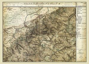 MAP-AUSTRO-HUNGARIAN-MILITARY-1872-KONIGSTETTEN-REPLICA-POSTER-PRINT-PAM0540