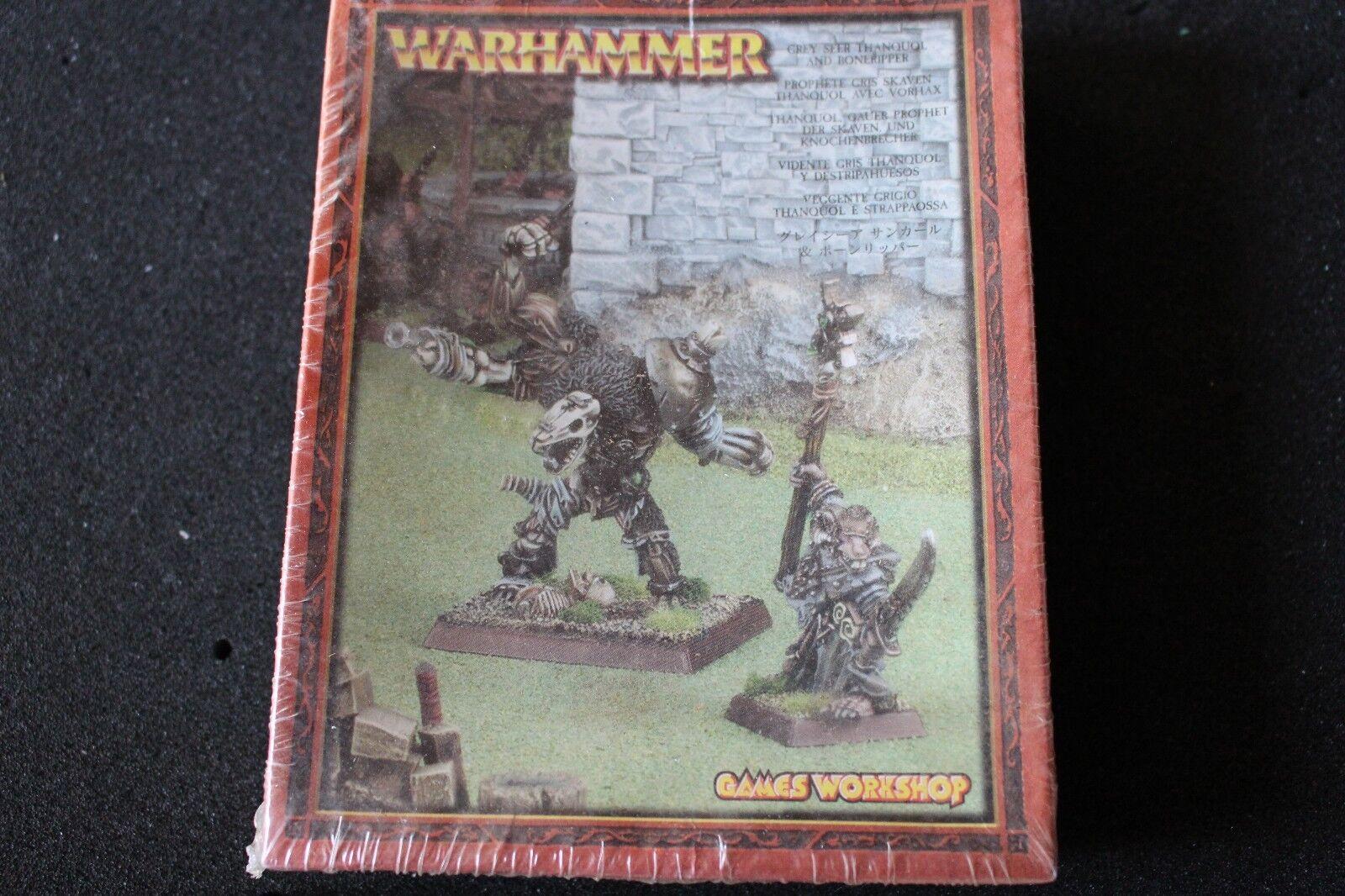 Games Workshop Warhammer Skaven Thanquol and Boneripper Grey Seer New BNIB Metal