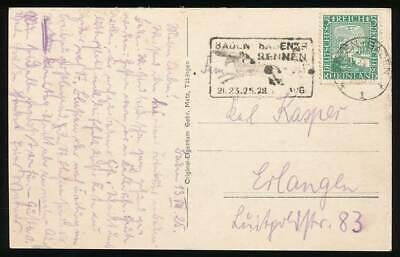 642757) Dr Sst Blg. Pferde Rennen Baden Baden 1928 KöStlich Im Geschmack