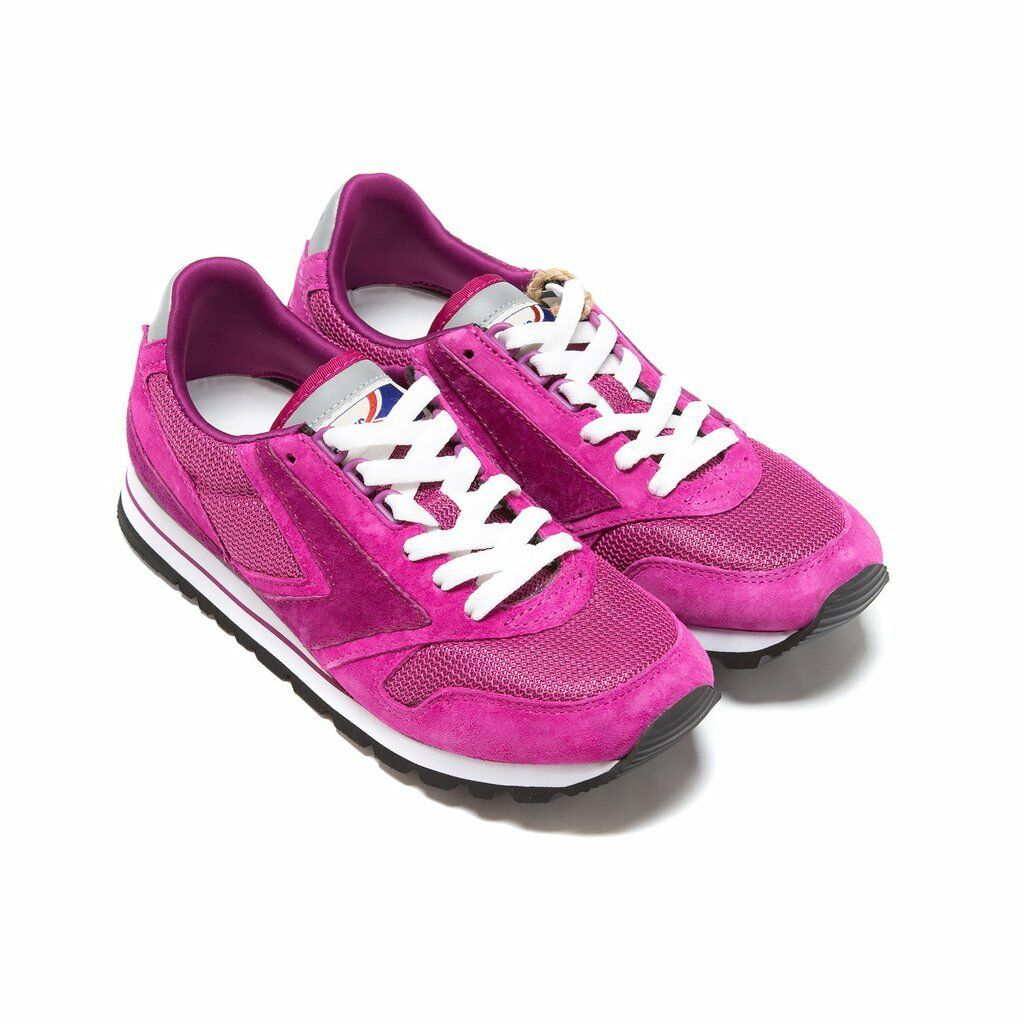 NIB BROOKS HERITAGE CHARIOT donna 526 FUSCIA RETRO RUNNING scarpe SOLD OUT 7-11
