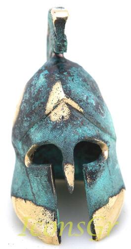 Ancient Greek Bronze Museum Replica Vintage Spartan Officer Battle Helmet 300