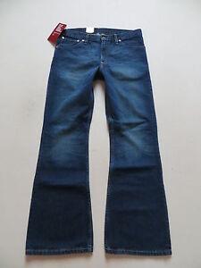 Levi-039-s-516-Flare-Schlag-Jeans-Hose-W-34-L-32-NEU-Denim-mit-KULT-Waschung