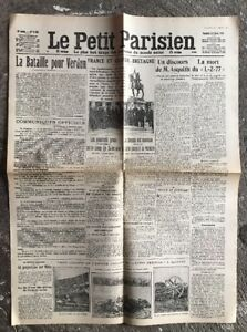 N50-La-Une-Du-Journal-Le-Petit-Parisien-25-Fevrier-1916