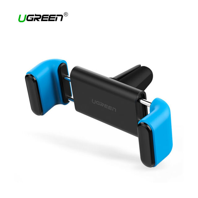 Soporte movil para coche ajuste doble 7 pulgadas UGREEN giro 360 grados azul