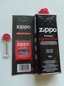 LOT-ZIPPO-RECHARGE-D-039-ESSENCE-125-ML-POUR-BRIQUET-6-PIERRES-MECHE