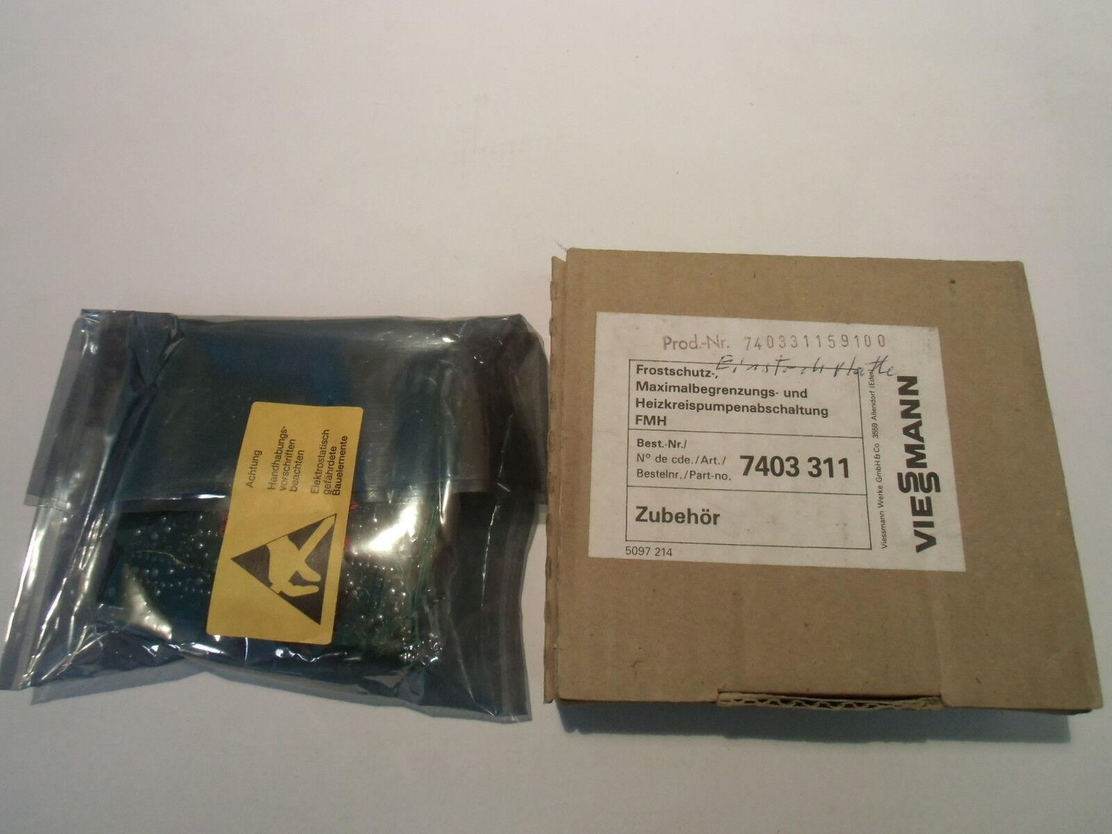 AT374-Viessmann Platine Frostschutz Maximalbegrenzung HKP Schaltung Nr 7403311