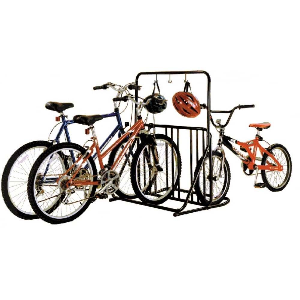 Gear Up Six-on-the-floor 6-Soporte de Bicicleta con Barra De Accesorios