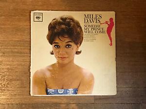 Miles-Davis-LP-Someday-My-Prince-Will-Come-Columbia-Mono-6-Eye-CL-1656