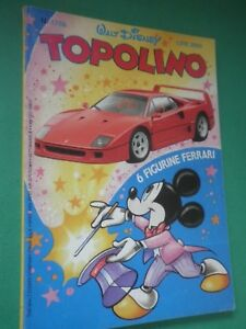 Topolino N 1788 Karikatur Komplett Von Figurine Ferrari Ebay