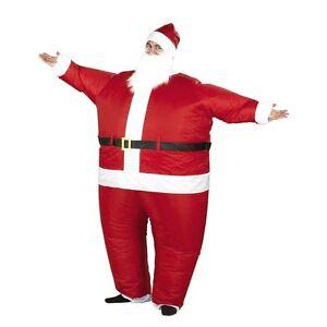 AirSuits Inflable Santa Padre Navidad Elaborado Vestido Disfraz de aire dirigible Traje  </span>