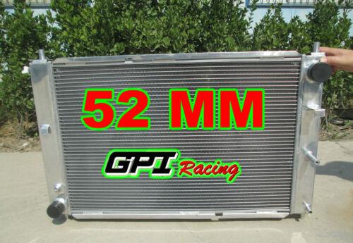 fan FORD MUSTANG 97-04 98 99 00 01 02 03 04 MT V8 4.6 52MM ALUMINUM RADIATOR
