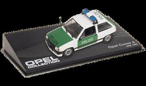 OPEL-Corsa-A-Police-VOITURE-MINIATURE-COLLECTION-IXO-1-43-CAR-AUTO-93