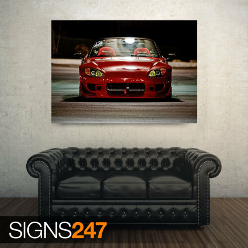 HONDA S2000 FRONT AA741 CAR POSTER Photo Picture Poster Print Art A0 to A4