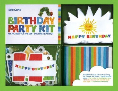 Eric Carle Birthday Party Kit for Children's Parties Book Bags Banner Game