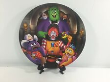 McDonalds Hard Plastic Collector's Plate, 2002 Halloween party.