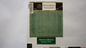 OLD-EMPTY-CIGARETTE-PACKET-LABEL-FROM-CANADA-BENSON-amp-HEDGES-MENTHOL