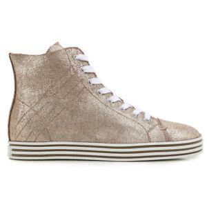 Details about HOGAN REBEL WOMEN shoes Damenshuhe SNEAKERS chaussures pour femme 100%AUTHENTIC