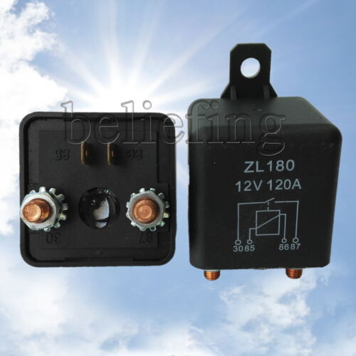 12V 24V 100A 120A 200A Heavy Duty Split Charge ON//OFF Relay Car Truck Boat