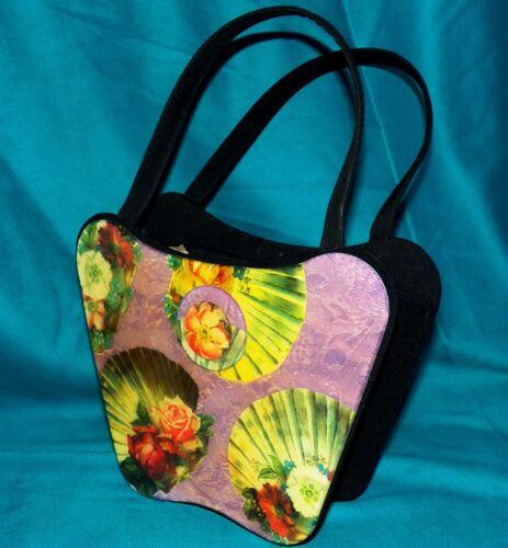 Chic Angela Francisco Boho hars Vintage handtas rozen San portemonnee schelpen Frascone 7yImYbv6gf