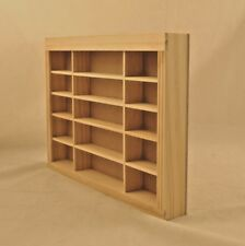 Dollhouse Miniature Unfinished 1:24 HALF Scale Wall Shelf J1121S