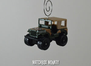 Jeep Christmas Ornament.Details About Usa Military Eagle Jeep Willys 4x4 Custom Christmas Ornament 1 64 Mash Adorno