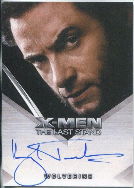 X Men 3 The Final Stand Autograph Card Hugh Jackman as Wolverine for ... c12fd8fb79ab
